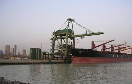 اسکله فولاد خوزستان